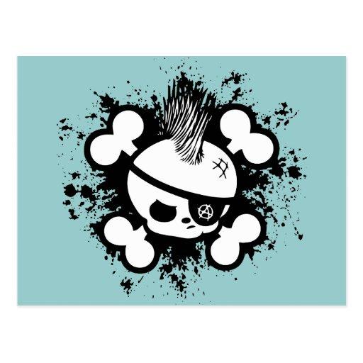 Punkin Pirate Postcard