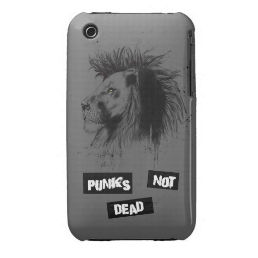punks not dead iPhone 3 cover