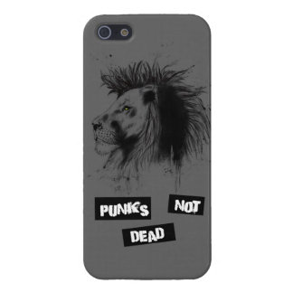 punks not dead iPhone 5 cover