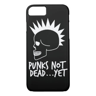 Punks Not Dead...Yet Skull Dark iPhone 8/7 Case