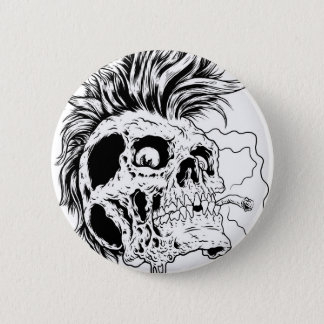 Punkskull Button