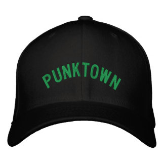 Punktown Embroidered Lid Embroidered Baseball Cap