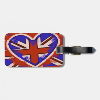 Punky British Style Luggage Tag