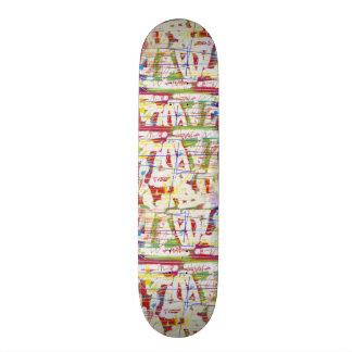 Punky Paint Board Skateboard Deck