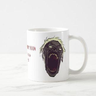 Punny Zombie Mug