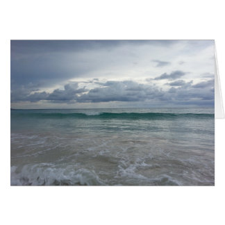 Punta Cana Beach Greeting Card