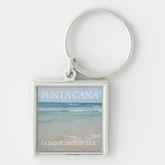 Punta Cana, Dominican Republic Beach and Ocean Key Ring
