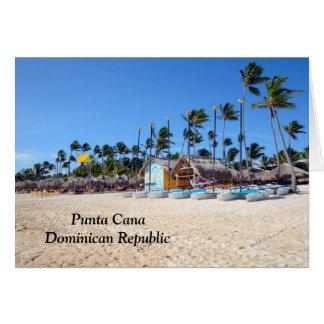 Punta Cana in the Dominican Republic Note Card