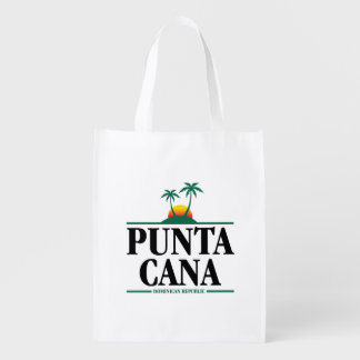 Punta Cana Reusable Grocery Bag