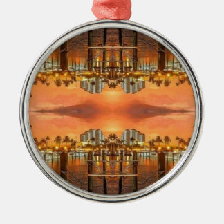 Punta Gorda Florida Metal Ornament