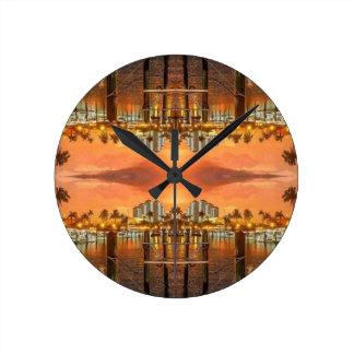 Punta Gorda Florida Round Clock