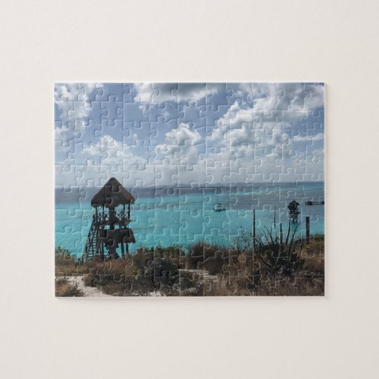 Punta Sur, Isla Mujeres, Mexico Jigsaw Puzzle
