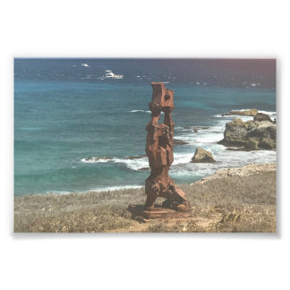 Punta Sur Sculpture, Mexico Photo Print