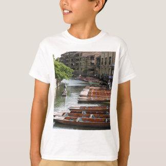 Punts at Cambridge, England T-Shirt