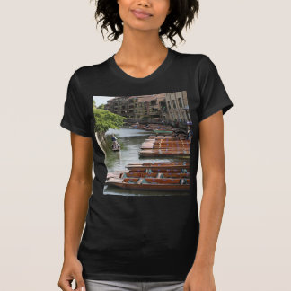 Punts at Cambridge, England T-Shirt
