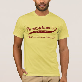 Punxsutawney Groundhog Day T-shirt