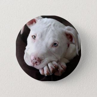 Pup 6 Cm Round Badge