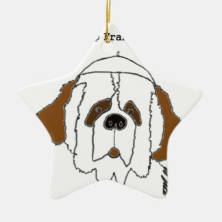 Pup Francis for Small Items Ceramic Star Decoration