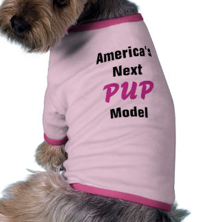 Pup Model Dog Shirt