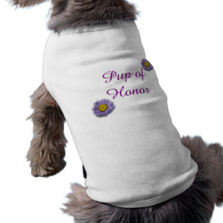 Pup of Honor Doggy Wedding Shirt