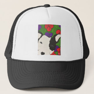 Pup with Heart Nose Trucker Hat