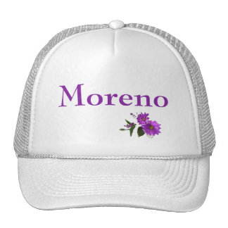 Puple Daisies Design- Purple Lettering Cap