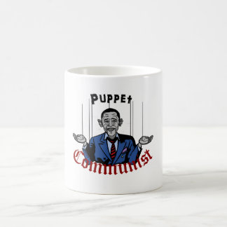 Puppet Comunist Basic White Mug