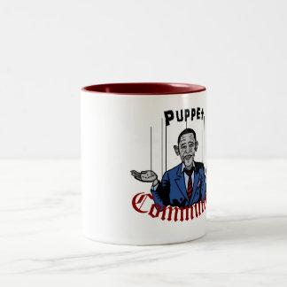 Puppet Comunist Two-Tone Mug