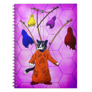 Puppet Master Cat Notebook