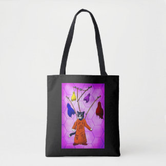 Puppet Master Cat Tote Bag