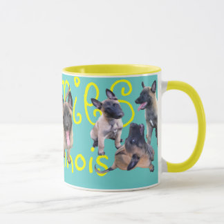 puppies malinois mug