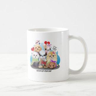 Puppies Manisfesction Coffee Mug