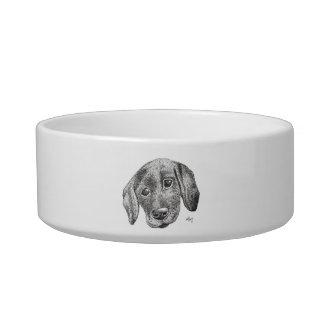 Puppy Art Dog Bowl