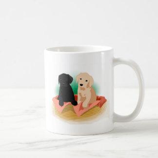 Puppy Basket Coffee Mug