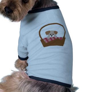 Puppy Basket Doggie Tee Shirt