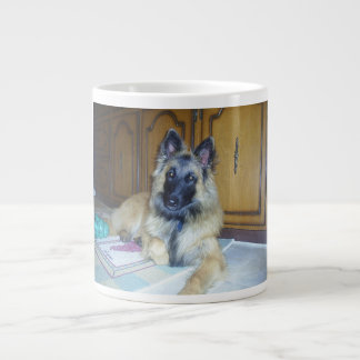 puppy Belgian_Tervueren.png Large Coffee Mug