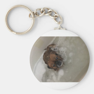 PUPPY BUBBLES KEY RING