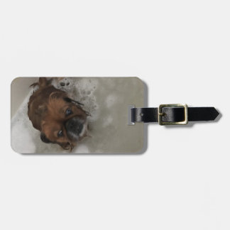 PUPPY BUBBLES LUGGAGE TAG
