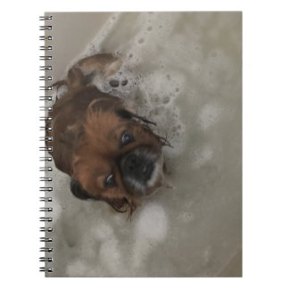 PUPPY BUBBLES NOTEBOOK