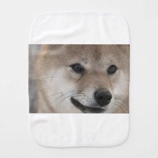 puppy burp cloth