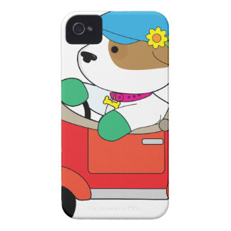 Puppy Car Case-Mate iPhone 4 Cases