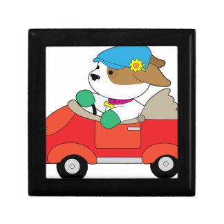 Puppy Car Gift Box