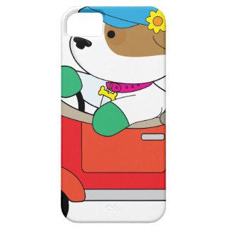 Puppy Car iPhone 5 Case