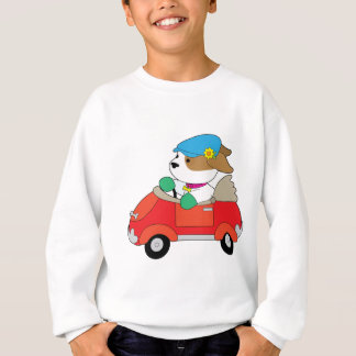Puppy Car Sweatshirt