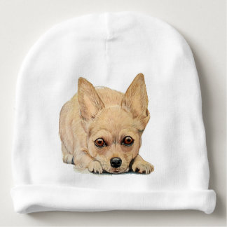 Puppy Chihuahua by Carol Zeock Baby Beanie