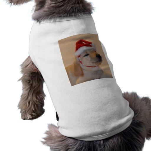 Puppy Christmas Pet T Shirt