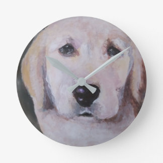 Puppy Clock Labrador