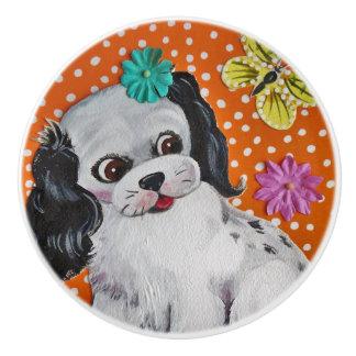 Puppy Dog Child's Kid's Drawer Pull Door Knob