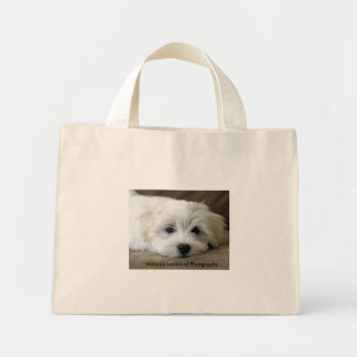 Puppy Dog Eyes Mini Tote Bag