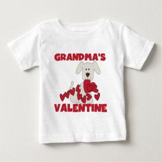 Puppy Dog Grandma's Valentine Tee Shirts